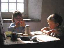 Kids Baking at Bircham Windmill